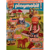 Playmobil n 18 chico Revista Playmobil 18 bimensual chicos