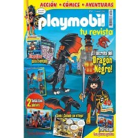 Playmobil numero 4 revista Playmobil 4 bimensual chicos