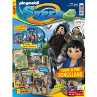 Playmobil n 2 Super4 Revista Playmobil Super 4 numero 2