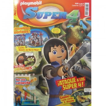 Playmobil n 7 super4 Revista Playmobil Super 4 numero 7
