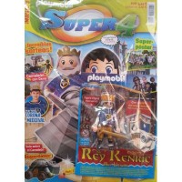 Playmobil n 6 super4 Revista Playmobil Super 4 numero 6