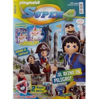 Playmobil n 8 super4 Revista Playmobil Super 4 numero 8