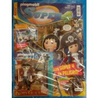 Playmobil n12 super4 Revista Playmobil Super 4 numero 12