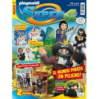 Playmobil n 3 Super4 Revista Playmobil Super 4 numero 3