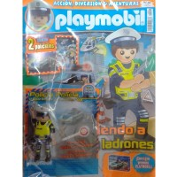 Playmobil n 44 chico Revista Playmobil 44 bimensual chicos