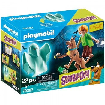 Playmobil 70287 Scooby y Shaggy con Fantasma